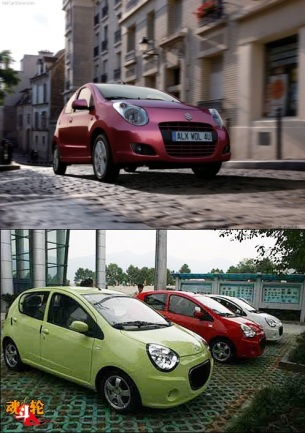 Geely Panda vs The 2009 Suzuki Alto